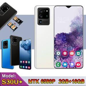 Excelay S30U+ 2GB 16GB MTK6850P Quad Core 2800mAh 3G Cellphone Water Drop Screen