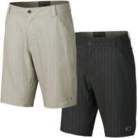 Oakley Men's Stanley 10.5 Golf Shorts w/ Stripes