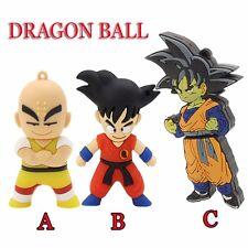 Cartoon Dragon Ball Goku model Usb 2.0 Memory Stick Flash pen Drive 4G-32Gb P583