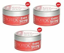 3 X Totex Cera de pelo extra fuerte Gel Pomada Cera de Peinado Extra Fuerte sostener