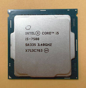 Intel Core i5-7500 3.40GHz Quad-Core SR335 Processor CPU
