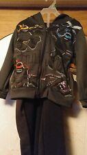 Boys Nickelodeon Ninja Turtles outfit pants and Hooded Jacket Nwt Sz. 4