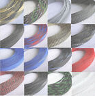 18mm Expandable Braided DENSE PET Mix Color 3 weave Sleeving tube 1-20M M520A QL