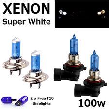 H7 HB3 100w WHITE XENON UPGRADE HID FULL SET Headlight Bulbs FULL/DIPPED BEAM B