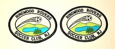 2 Ringwood Rovers Soccer Team Club New Jersey Patch New NOS 1990s