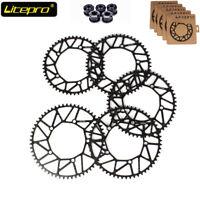 Litepro 130bcd 50-58T Hollow Chainring Folding/Road Bike Narrow Wide Chainwheel