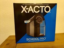 X Acto 1670x School Pro Electric Pencil Sharpener Black Brand New