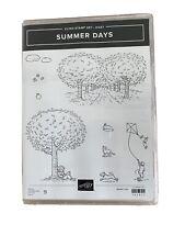 Stampin Up Stempelset Summer Days