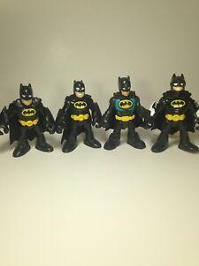 Imaginext DC Super Friends Batman Lot of FOUR 4 OTHER Type LOC002