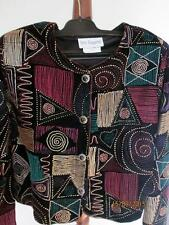 TRES PAQUETTE BYER CALIFORNIA WOMENS COLORFUL BUTTON TOP SIZE M
