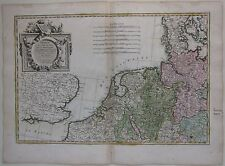 1783 PROVINCES UNIES CERCLE WESTPHALIE Rizzi Zannoni Netherlands Belgium etching