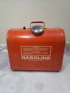 Vintage Evinrude Snowmobile Gas Tank Bobcat 1969 Nice And Clean inside