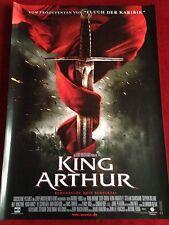 King Arthur Kinoplakat Poster A1 Teaser Clive Owen, Til Schweiger,  Knightley