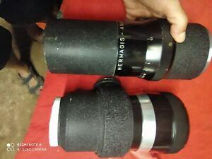 Objectif hermagis anastigmat  1:4,5 F= 500 mm n° 352687 zoom eidoscope ? Chambre