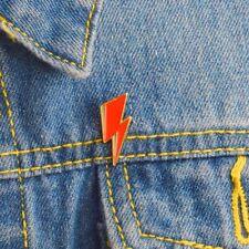 Bowie Inspired Lightning Bolt Enamel Pin Badge Lapel Punk DIY