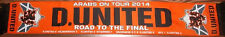 DUNDEE UNITED FC SCARF ROAD TO THE FINAL