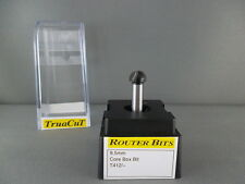 Router Bit- 9.5mm CORE BOX Bit 2 flute T412 (TruaCuT)