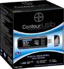 Bayer 7393 Contour Usb Blood Glucose Monitoring System (3 PACK)