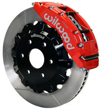 "WILWOOD DISC BRAKE KIT,FRONT,99-18 CHEVY SILVERADO,SUBURBAN,AVALANCHE,16"",RED"
