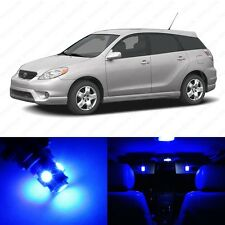 8 x Blue LED Interior Lights Package For 2003 - 2008 Toyota Matrix + PRY TOOL
