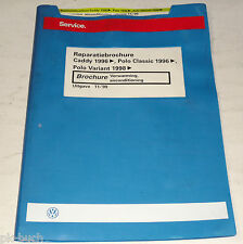 Reparatiebrochure VW Polo Classic Variant / Caddy Verwarming Airconditioning