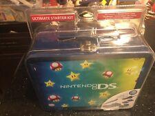 Nintendo Ultimate Tin Starter Kit Stars And Mushrooms DS Lite New