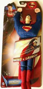 Superman Man of Steel Swing-shot Action Figure Plush Toy