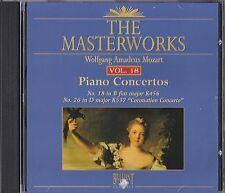 The Masterworks Vol. 18-Wolfgang Amadeus Mozart Piano Concertos K456,K537 CD