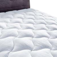 New YOUMAKO Full Size Mattress Pad Cover Hypoallergenic Quilted Pillowtop