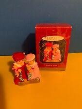 Hallmark Keepsake Christmas Ornament Sister to Sister Friend Retired 1999 QX6749