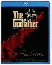 The Godfather Trilogy (Blu-ray, 2008, 3-Disc Set, Box-Set)