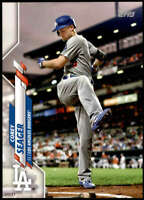 Corey Seager 2020 Topps Short Print Variations 5x7 #620 /49 Dodgers