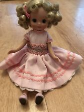 "VERY RARE 8"" BETSY MCCALL DOLL ""LITTLE LADY AT TEA"" & ROSEBUD OUTFIT"