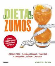 LA DIETA DE LOS ZUMOS / THE JUICE DIET - NEW BOOK