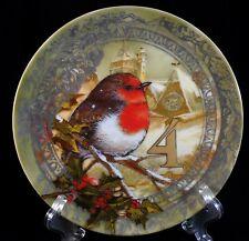 4 Calling Birds Dessert Plate 12 Days of Christmas Pottery Barn Snack Sandwich