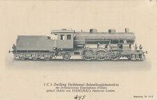 AK UNGEL. ZWILLING HEISSDAMPF SCHNELLZUGLOK TÜRKEI GEBAUT 1912/14  (G2434)