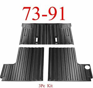 73 91 Chevy Blazer 3Pc Rear Cargo Floor Section, Left Right Front, GMC Jimmy