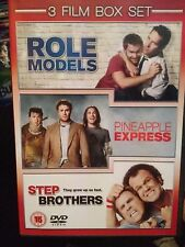 Role Models / Pineapple Express / Step Brothers (DVD, 2009, 3-Disc Set, Box Set)