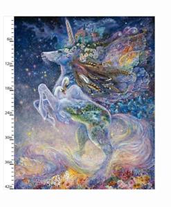 Celestial Journey: Unicorn Panel- 3 Wishes Fabric