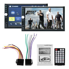 Bluetooth 7012B 7 Inch Car Audio Stereo MP5 Player 12V 2-DIN Support AUX FM USB