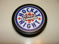 NHL Hockey Hockey Night In Canada Souvenir Puck HNIC Sherwood Logo Current New
