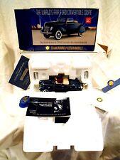Franklin Mint 1939 Ford Convertible Worlds Fair Car w/Original Box