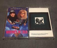 Lot Of 2 Cassettes Wayne's World Soundtrack & Van Halen Women & Children First