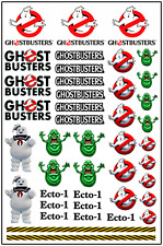 1/64, 1/87 - DECALS FOR HOT WHEELS, MATCHBOX, SLOT CAR: G...BUSTERS