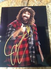Mick Foley Signed WWE STUDIO SHOT 8X10 Photo PSA/DNA Quick Opinion