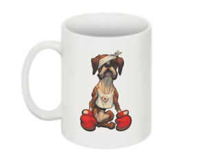 "Cornwall & South Devon Boxer Rescue ""Johnny"" Charity Mug"