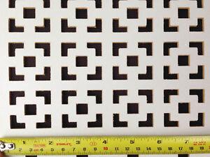 Radiator Cover grille Dakota white faced finish 3ft x 2ft size