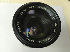 YASHICA 75-200mm f/4.5 MACRO DSB  Manual Focus Zoom Lens for C/Y Mount