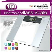 Digital Bathroom Body Fat Electronic LCD Glass Weighing Scale Weight 150kg