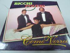 Ricchi E Poveri –  Come Vorrei  1994  1ST RARE HOLLAND CARDSLEEVE MAXI-CD !!!